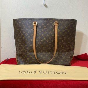 LOUIS VUITTON Monogram Cabas Alto travel xl bag